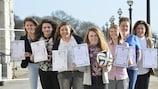Irish Football Association (IFA) Female Football Leaders Programme graduates