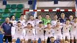 Letonia, una de las selecciones clasificadas a la ronda principal