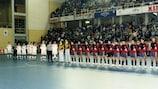 Команды перед финалом ЧЕ-1996