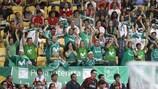 Les fans en 2010 à Lisbonne