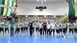 Sporting have qualified for the finals as Group D winners