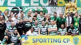 Sporting are hoping to win the title for the first time
