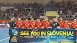Spain celebrate qualifying