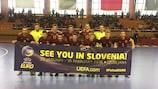 Сборная России ждет встречи с болельщиками уже в Словении