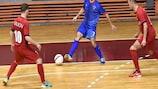 Coupe de Futsal de l'UEFA, tour préliminaire