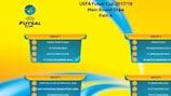 La Voie A du tour principal de la Coupe de futsal de l'UEFA