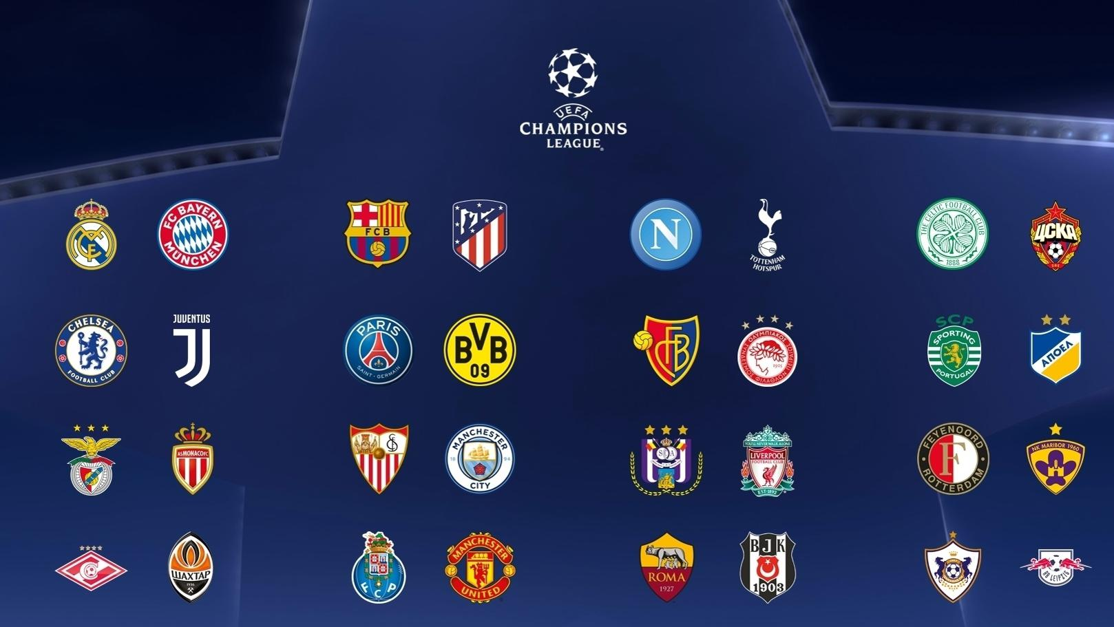 Champions League Group Stage Squads Confirmed Uefa Champions League Uefa Com