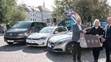 A frota da Volkswagen está pronta para se fazer à estrada no UEFA Futsal EURO 2018