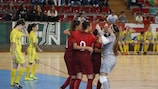 Portugal ranked first in the women's groups and second among the men