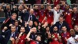 Le Portugal fête son premier titre