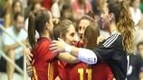 España, Portugal, Rusia y Ucrania, en la fase final