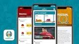 Segui le Qualificazioni Europee attraverso l'app ufficiale