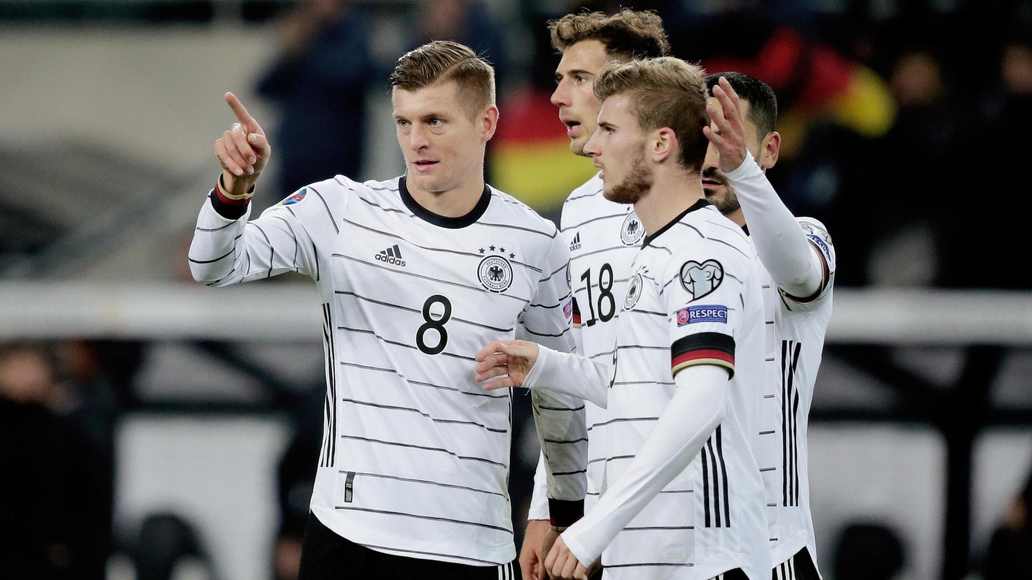 German World Cup Team 2020.Germany 4 0 Belarus Low S Team Reach 13th Straight Euro