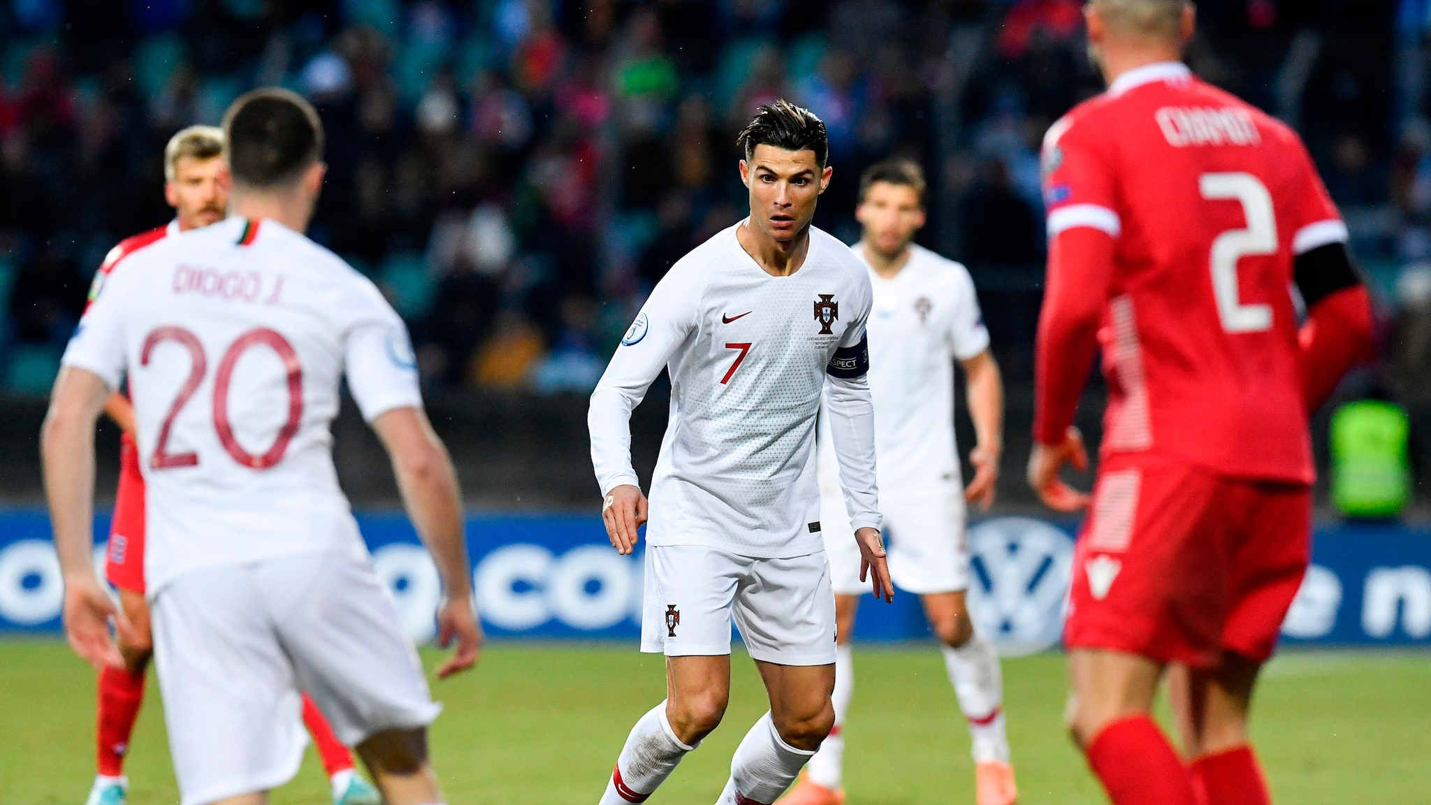 France Portugal Euro 2020 Calendrier.Highlights Luxembourg 0 2 Portugal European Qualifiers