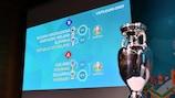 """Sorteio do """"play-off"""" do UEFA EURO 2020"""