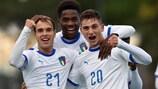 Италия вышла в элитный раунд