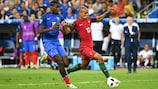 UEFA EURO 2016 finalists France and Portugal will meet again