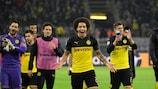 Dortmund feierte einen Sieg gegen Inter Mailand