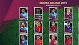 Equipa do Ano dos adeptos do UEFA.com 2019: análise estatística