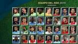 ¡Elige tu Equipo del Año 2019 de los aficionados de UEFA.com!