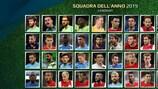 Scegli la tua Squadra dell'Anno 2019 dei tifosi di UEFA.com