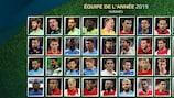 Faites votre Équipe de l'année des fans d'UEFA.com 2019