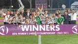 Deutschland jubelt über den Titelgewinn 2011