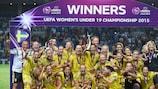 Schweden feiert seinen Triumph