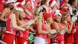 Die dänischen Fans hatten 1998 was zu feiern