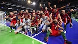 Portugal won the trophy for the first time