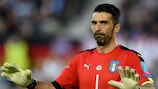 Italy's Gianluigi Buffon played in 58 EURO games (including qualifying)