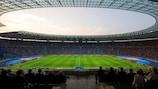 O Olympiastadion, em Berlim