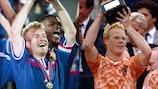 Дидье Дешам и Рональд Куман выигрывали ЕВРО в бытность игроками
