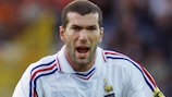 Zinédine Zidane was the talisman for France at UEFA EURO 2000
