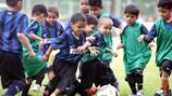 The joy of playing football (Photo: Inter Futura S.r.l)