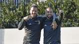 Juventus in relaxed mood on Tuesday with progression assured