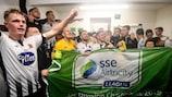 Dundalk feiert die Meisterschaft 2019