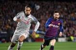 Virgil Van Dijk (Liverpool) y Lionel Messi (Barcelona), dos estrellas que podrían reencontrar en los octavos