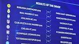 Sorteggio ottavi: Atalanta-Valencia, Lione-Juventus, Napoli-Barça