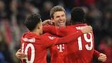 Gol nella fase a gironi: Bayern secondo, ma primo fuori casa