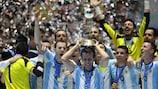 A Argentina venceu o último Mundial em 2016