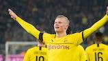 Erling Braut Haaland has hit the ground running since joining Dortmund