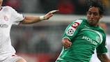 Maccabi Haifa's Eyal Golasa can look forward to the third qualifying round