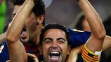 Xavi says he is not threatened by greater competition for places at Barcelona