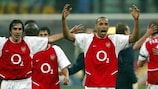 Thierry Henry helped Arsenal to a memorable win away to Inter in 2003