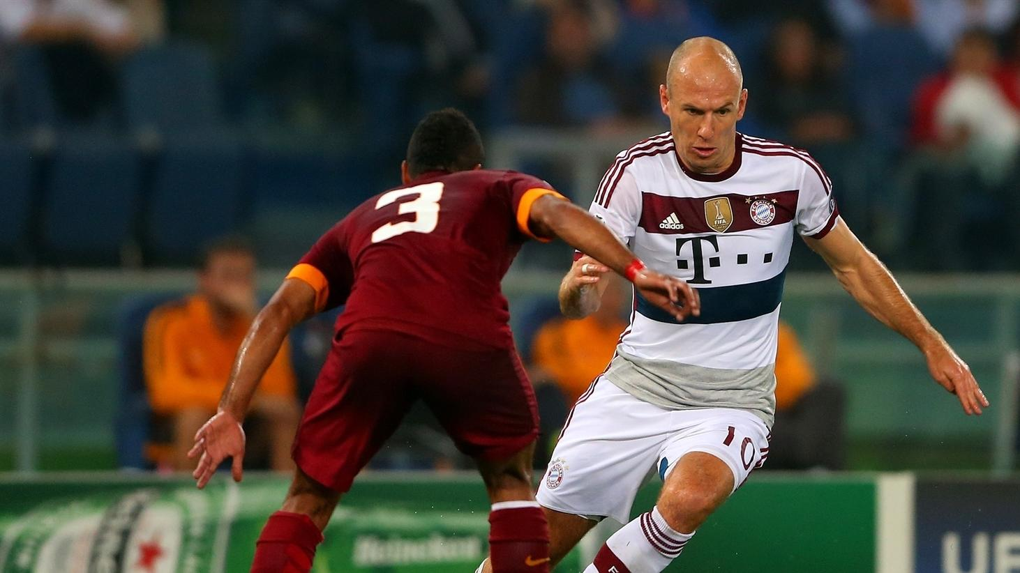 Bayern v Roma background | UEFA Champions League