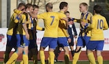 Ventspils are within sight of an upset in the second qualifying round