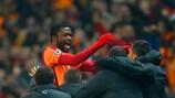 Aurélien Chedjou enjoys scoring Galatasaray's equaliser