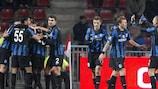 Europa League knockout draws on Monday
