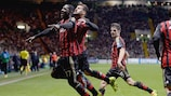 Milan end Celtic hopes to stay on track